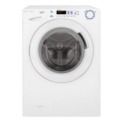 Lave-linge Candy GSV 138D3-S - Machine à laver - pose libre - largeur : 60 cm - profondeur : 52 cm - hauteur : 85 cm - chargement frontal - 8 kg - 1300 tours/min - blanc