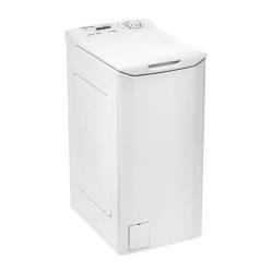 Lave-linge Candy CLT G3652D-S - Machine à laver - pose libre - largeur : 40 cm - profondeur : 60 cm - hauteur : 85 cm - chargement par le dessus - 42 litres - 6.5 kg - 1200 tours/min - blanc