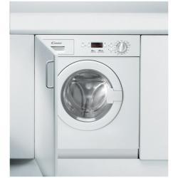Lave-linge encastrable Candy CWB 1062DN1-S - Machine à laver - intégrable - chargement frontal - 6 kg - 1000 tours/min - blanc