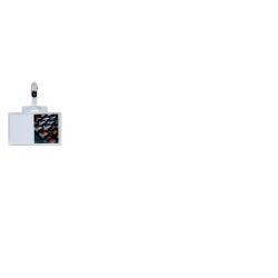 SEI PASS 3 E C.R. - Badge nominatif - pour 60 x 95 mm - clip - transparent (pack de 100)