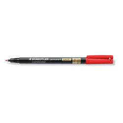 Stylo STAEDTLER Lumocolor special - Marqueur - permanent - rouge - 0.6 mm - fin