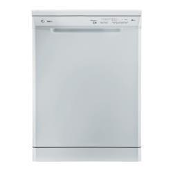 Lave-vaisselle Candy CDPE 6655-01 - Lave-vaisselle - pose libre - largeur : 60 cm - profondeur : 60 cm - hauteur : 85 cm - blanc