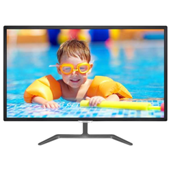 "Écran LED Philips E-line 323E7QDAB - Écran LED - 32"" (31.5"" visualisable) - 1920 x 1080 Full HD (1080p) - IPS - 250 cd/m² - 1000:1 - 5 ms - HDMI, DVI-D, VGA - haut-parleurs - noir brillant"