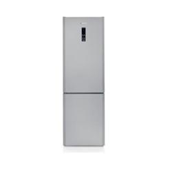 Réfrigérateur Hoover Dynamic 2.0 Next HDCN 182 AD - Réfrigérateur/congélateur - pose libre - largeur : 60 cm - profondeur : 60 cm - hauteur : 185 cm - 306 litres - congélateur bas - classe A+ - aluminium
