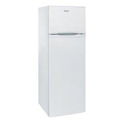 Réfrigérateur Candy CCDS 5162W - Réfrigérateur/congélateur - pose libre - largeur : 55 cm - profondeur : 58 cm - hauteur : 167 cm - 247 litres - congélateur haut - classe A+ - blanc