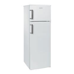 Réfrigérateur Hoover Cool HVDS 5162 WH - Réfrigérateur/congélateur - pose libre - largeur : 55 cm - profondeur : 58 cm - hauteur : 167 cm - 247 litres - congélateur haut - classe A+ - blanc
