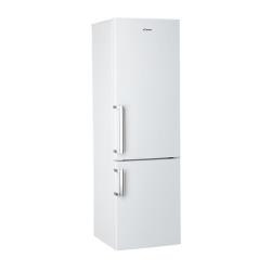 Réfrigérateur Candy CCBS 6182WHV/1 - Réfrigérateur/congélateur - pose libre - largeur : 60.3 cm - profondeur : 59.5 cm - hauteur : 187 cm - 305 litres - congélateur bas - classe A+ - blanc