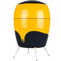 Haut-parleurs Scandyna Minibass - Caisson de basses - 50 Watt - jaune