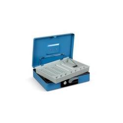 SYSTEMYA Deluxe - Caisse à monnaie - acier - bleu