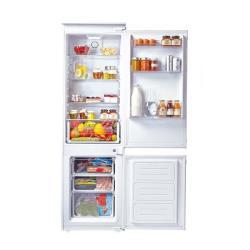 Réfrigérateur intégrable Candy CKBC 3160 E/1 - Réfrigérateur/congélateur - intégrable - niche - largeur : 56 cm - profondeur : 56 cm - hauteur : 177.1 cm - 250 litres - congélateur bas - classe A+ - blanc
