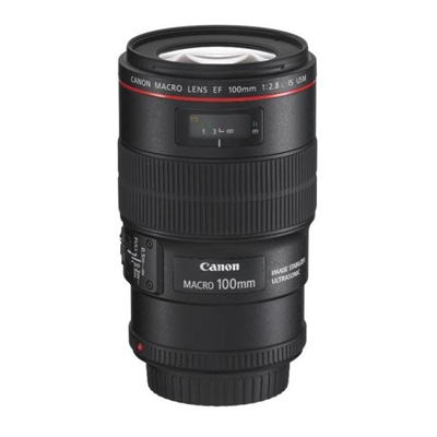 Canon - EF 100MM F2.8 USM MACRO IS