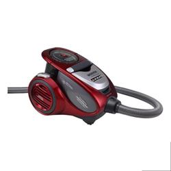 Aspirateur Hoover Xarion Pro Allergy Care XP81 XP25 - Aspirateur - traineau - sans sac - rouge métallique de flamme brillante/rouge course/gris appin transparent
