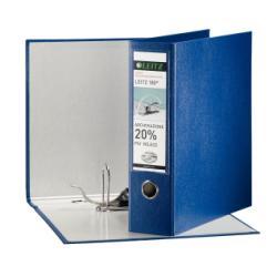 Boîte à archive Leitz 180° - Classeur à levier - 80 mm - Folio - bleu