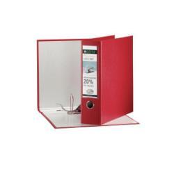 Boîte à archive Leitz 180° - Classeur à levier - 80 mm - Folio - rouge