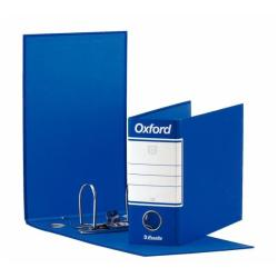 Boîte à archive Esselte Oxford - Classeur à levier - 80 mm - 230 x 180 mm - bleu (pack de 12)
