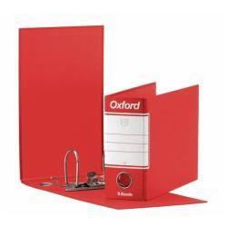 Boîte à archive Esselte Oxford G81 - Classeur à levier - 80 mm - 230 x 180 mm - pour 500 feuilles - rouge
