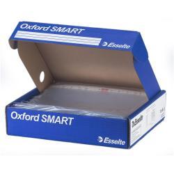 Porte-documents Esselte Oxford SMART - Pochette perforée - A4 - transparent (pack de 400)