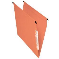 Porte-documents Esselte Orgarex Visicontrol - Dossier suspendu - 30 mm - A4 - orange kraft