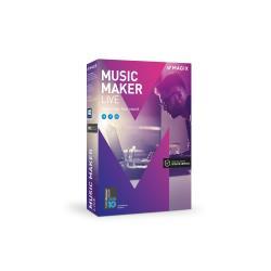 Logiciel MAGIX Music Maker 2017 Live - Ensemble de boîtes - 1 utilisateur - Win - français, italien