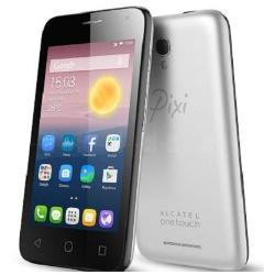 Foto Smartphone Pixi First Metal Silver Alcatel