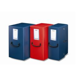 Boîte à archive Leonardi Pick Up - Boîte de classement - 120 mm - 350 x 250 mm - bleu