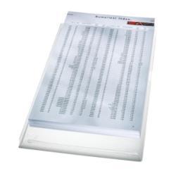 Porte-documents Leitz - Pochette coin - A4 - pour 200 feuilles - clair