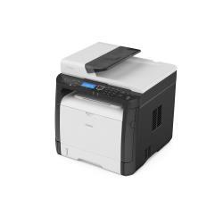 Imprimante laser multifonction Ricoh SP 325SNw - Imprimante multifonctions - Noir et blanc - laser - A4 (210 x 297 mm), Legal (216 x 356 mm) (original) - A4/Legal (support) - jusqu'à 30 ppm (copie) - jusqu'à 30 ppm (impression) - 300 feuilles - USB 2.0, LAN, Wi-Fi, NFC