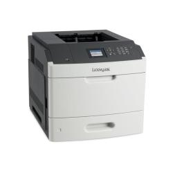 Imprimante laser Lexmark MS810dn - Imprimante - monochrome - Recto-verso - laser - A4/Legal - 1200 x 1200 ppp - jusqu'à 52 ppm - capacité : 650 feuilles - USB, Gigabit LAN, hôte USB