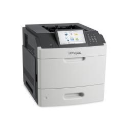 Imprimante laser Lexmark MS812de - Imprimante - monochrome - Recto-verso - laser - A4/Legal - 1200 x 1200 ppp - jusqu'à 66 ppm - capacité : 650 feuilles - USB, Gigabit LAN, hôte USB