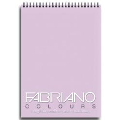 Blocco Fabriano - Colours A6 Notes Lavanda Confez.5pz