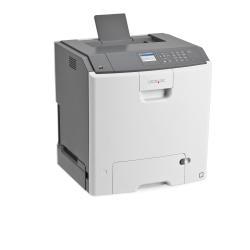 Imprimante laser Lexmark C746dtn - Imprimante - couleur - Recto-verso - laser - A4/Legal - 1200 ppp - jusqu'à 33 ppm (mono) / jusqu'à 33 ppm (couleur) - capacité : 1200 feuilles - USB, Gigabit LAN, hôte USB