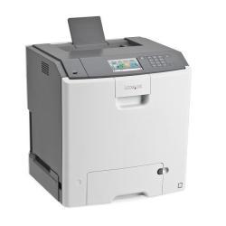 Imprimante laser Lexmark C748dte - Imprimante - couleur - Recto-verso - laser - A4/Legal - 1200 ppp - jusqu'à 33 ppm (mono) / jusqu'à 33 ppm (couleur) - capacité : 1200 feuilles - USB, Gigabit LAN, hôte USB