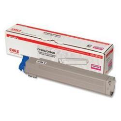 Toner OKI - Magenta - originale - cartouche de toner - pour C9600dn, 9600hdtn, 9600hn, 9600n, 9650dn, 9650hdn, 9650hdtn, 9650n, 9800hdn, 9800hdtn