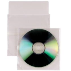 Porte-documents SEI Rota INSERT CD A C.R. - Enveloppe CD/DVD - capacité : 1 CD/DVD - transparent (pack de 500)