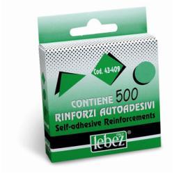 Cartelletta Lebez - Cf500 rinforzi adesivi trasp. d13mm