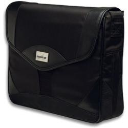 """Sacoche Manhattan Milan Notebook Computer Messenger Bag - Sacoche pour ordinateur portable - 15.4"""" - noir"""