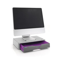 Meuble de bureau Exponent COLOR ME UP! - Support d'imprimante ou de moniteur avec tiroir