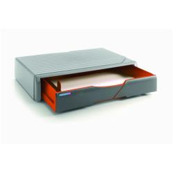 Meuble de bureau Exponent COLOR ME UP! - Support d'imprimante ou de moniteur avec tiroir - orange
