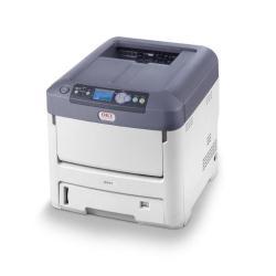 Imprimante laser OKI C711n - Imprimante - couleur - LED - A4/Legal - 1200 x 600 ppp - jusqu'à 36 ppm (mono) / jusqu'à 34 ppm (couleur) - capacité : 630 feuilles - parallèle, USB, LAN