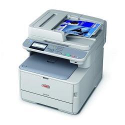 Imprimante laser multifonction OKI MC342dn - Imprimante multifonctions - couleur - LED - A4 (210 x 297 mm) (original) - A4 (support) - jusqu'à 22 ppm (copie) - jusqu'à 22 ppm (impression) - 350 feuilles - 33.6 Kbits/s - USB 2.0, LAN, hôte USB