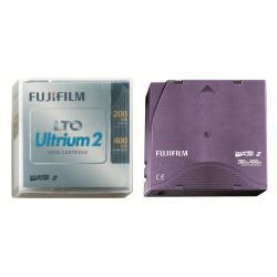 Support stockage FUJIFILM - LTO Ultrium 2 - 200 Go / 400 Go - violet