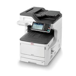 Imprimante laser multifonction OKI MC873DN - Imprimante multifonctions - couleur - LED - 297 x 431.8 mm (original) - A3 (support) - jusqu'� 35 ppm (copie) - jusqu'� 35 ppm (impression) - 400 feuilles - 33.6 Kbits/s - USB 2.0, Gigabit LAN, h�te USB
