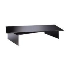 Support pour LCD Meliconi Rotobridge Elite M - Pied pour écran plasma / LCD - acier, verre trempé - noir