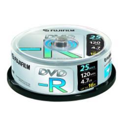 FUJIFILM - 25 x DVD-R - 4.7 Go ( 120 minutes ) 16x - spindle