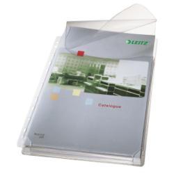 Porte-documents Leitz Premium - Pochette perforée - extensible - A4 - pour 200 feuilles - clair (pack de 5)