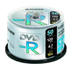 FUJIFILM - 50 x DVD-R - 4.7 Go 16x - spindle