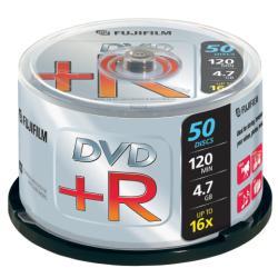 FUJIFILM - 50 x DVD+R - 4.7 Go 16x - spindle