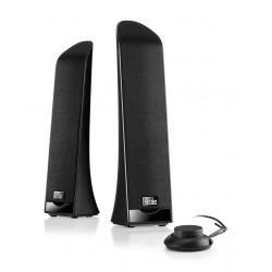 Enceinte PC Hercules 2.0 Slim - Haut-parleurs - pour PC - 5 Watt (Totale) - noir