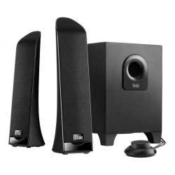Enceinte PC Hercules XPS 2.1 Slim - Système de haut-parleur - pour PC - Canal 2.1 - 30 Watt (Totale)