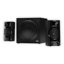Enceinte PC Hercules XPS 2.1 BASSBOOST - Système de haut-parleur - pour PC - Canal 2.1 - 32 Watt (Totale)